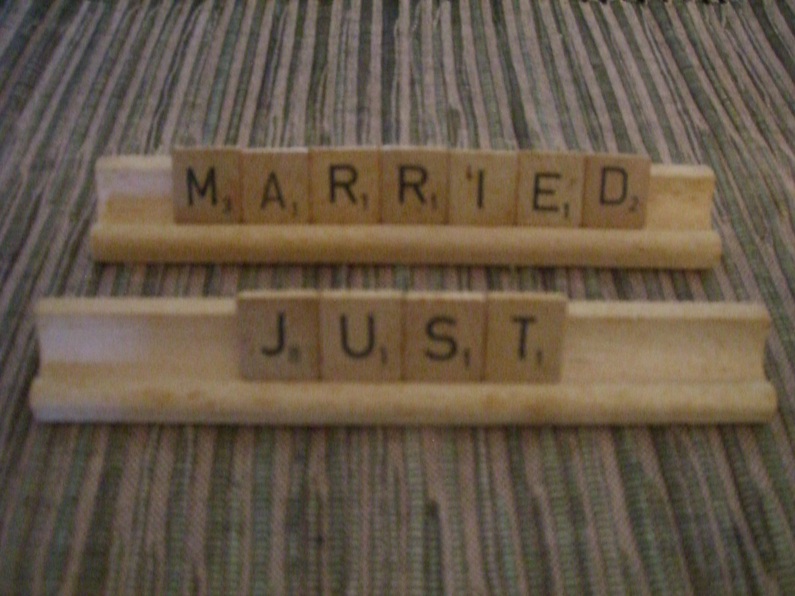 Scrabble decor ideas by destination wedding planner Mango Muse Events