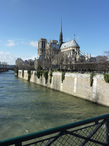 Notre Dame and the Seine for a Paris Destination Wedding by Destination Wedding Planner, Mango Muse Events