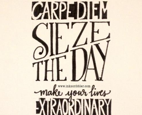 Carpe Diem from the Dead Poets Society