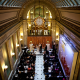 San Francisco wedding ceremony in the merchants exchange building by destination wedding planner, Mango Muse Events
