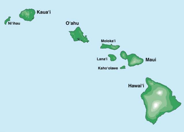 Hawaiian Islands for Hawaii destination weddings