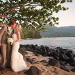 Princeville wedding for Hawaii destination weddings by Destination wedding planner, Mango Muse Events