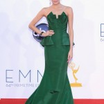 Allison Williams green dress Emmy fashion wedding inspiration by Destination wedding planner, Mango Muse Events