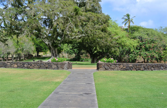 View from the lodge of Dillingham Ranch a Hawaii wedding venue for a Hawaii destination wedding by Destination wedding planner Mango Muse Events