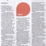 Article on tips for wedding toasts published in the South China Morning Post advice by Destination wedding planner Mango Muse Events