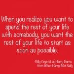 When Harry Met Sally love quote