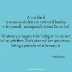 Jim Morrison true friend love quote