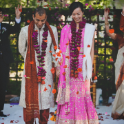 Hindu wedding ceremony for a multicultural wedding planned by Destination wedding planner Mango Muse Events
