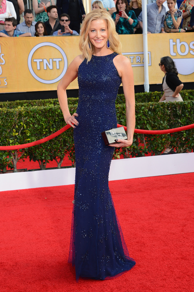 Anna Gunn on the red carpet 2014 SAG Awards wedding inspiration by Destination wedding planner Mango Muse Events