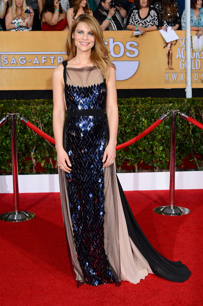 Claire Danes on the red carpet 2014 SAG Awards wedding inspiration by Destination wedding planner Mango Muse Events