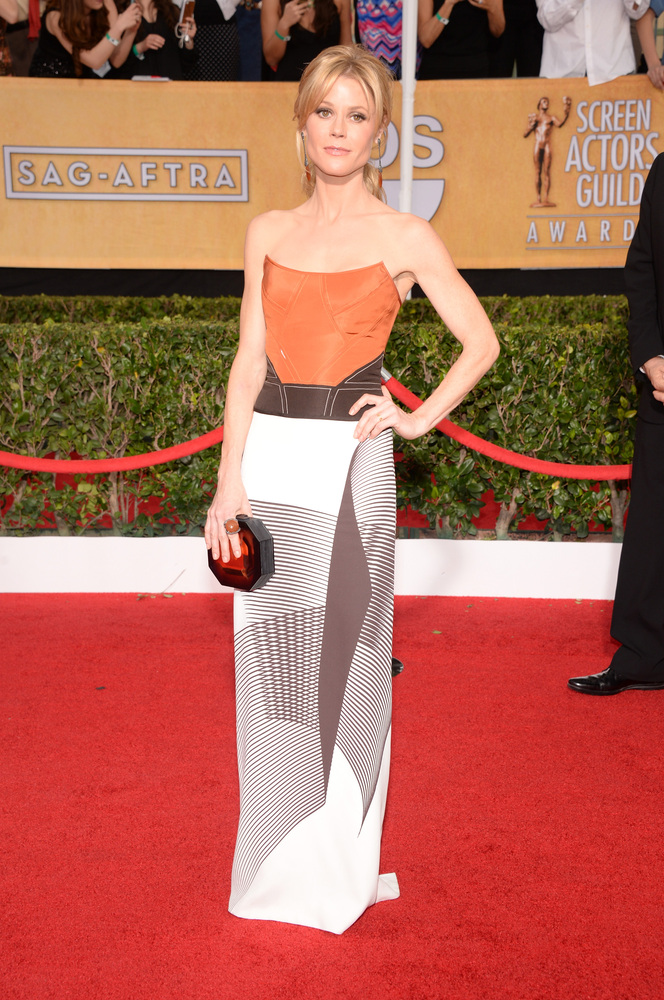 Julie Bowen on the red carpet 2014 SAG Awards wedding inspiration by Destination wedding planner Mango Muse Events