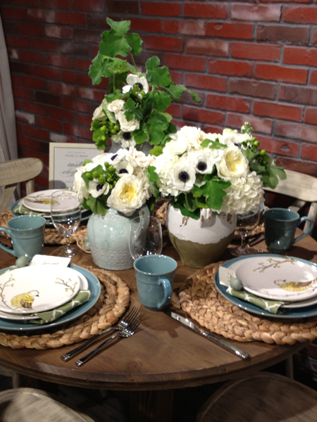 Rustic wedding table decor inspiration.