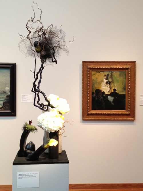2014 Bouquet to Art Flower and branch interpretation of fine art painting.