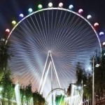 Ferris Wheel Wedding at the High Roller in Las Vegas.