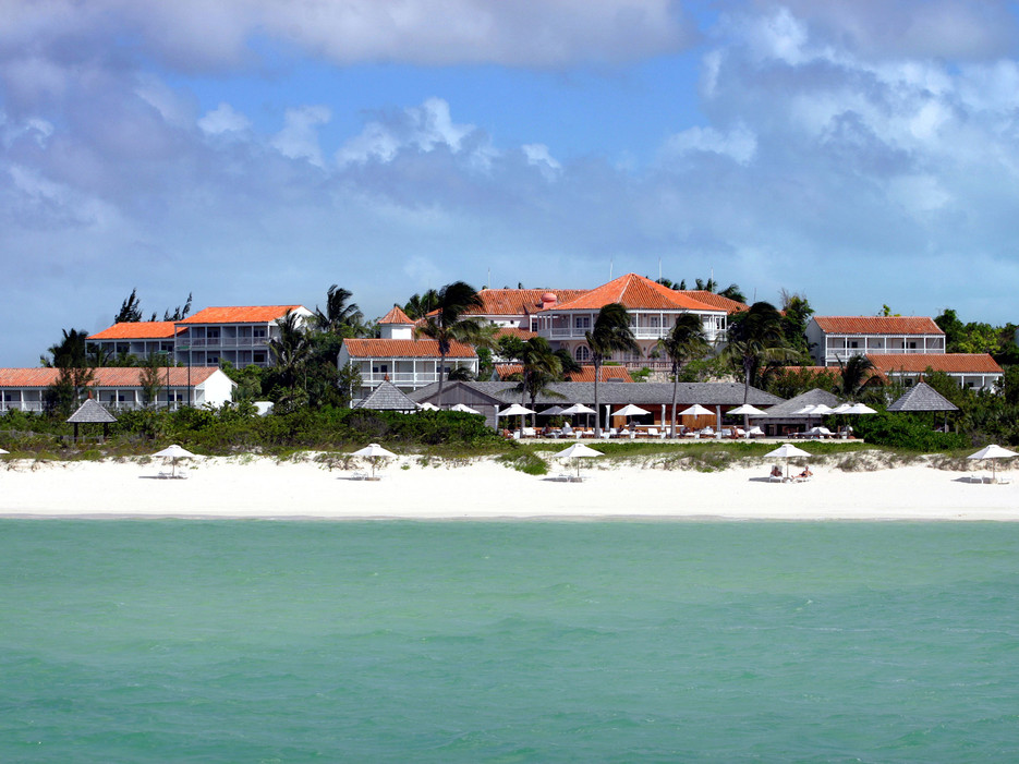 Destination wedding venue Parrot Cay Resort in Turks and Caicos one of a few celebrity destination wedding venues