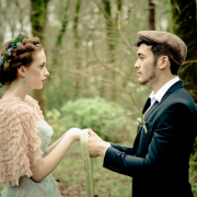 Handfasting for a modern Irish wedding