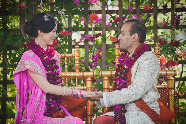 Chinese Hindu wedding ceremony. Event design by Jamie Chang of Mango Muse Events.