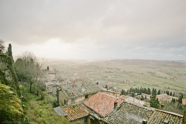 Montepulciano, Tuscany a destination wedding location in Italy.