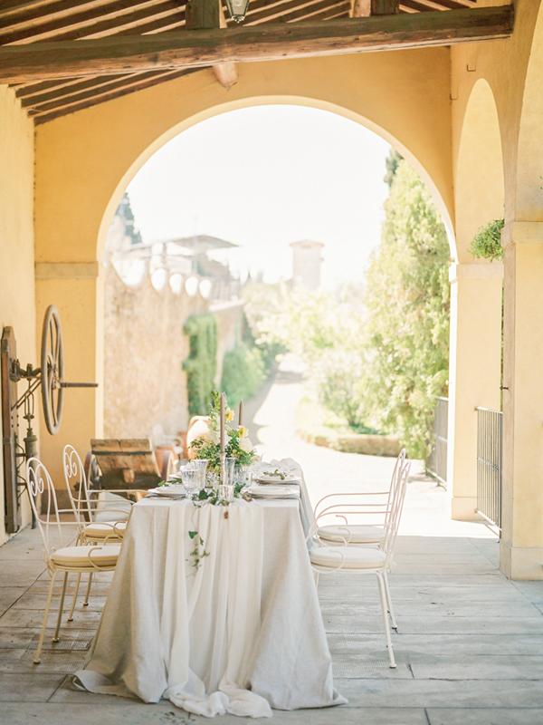 Villa Agapa, a destination wedding venue in Italy.
