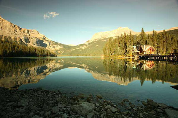 Emerald Lake Lodge in Canada, an international travel destination