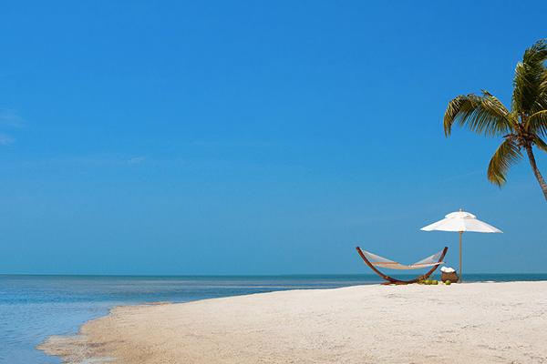Unplugged destination vacations. Little Palm Island, Florida.
