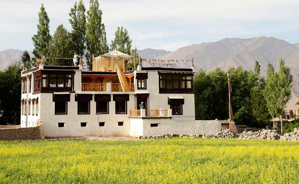 Unplugged destination vacations. Shakti Ladakh, India.