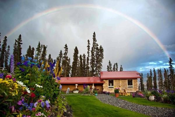 Unplugged destination vacations. Ultima Thule Lodge, Alaska.