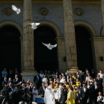 Dove release at a San Francisco wedding by Destination Wedding Planner Jamie Chang