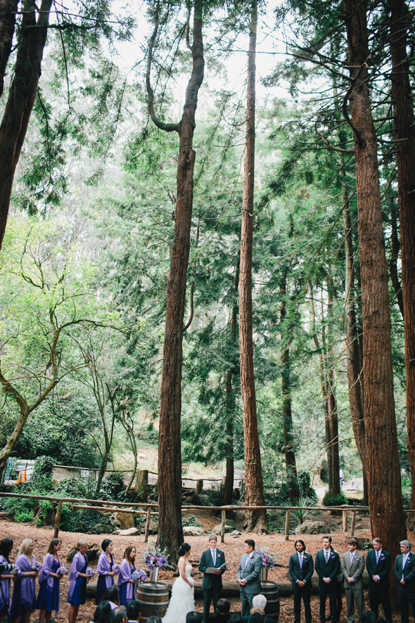 Stern Grove outdoor destination wedding in San Francisco by Jamie Chang of Mango Muse Events