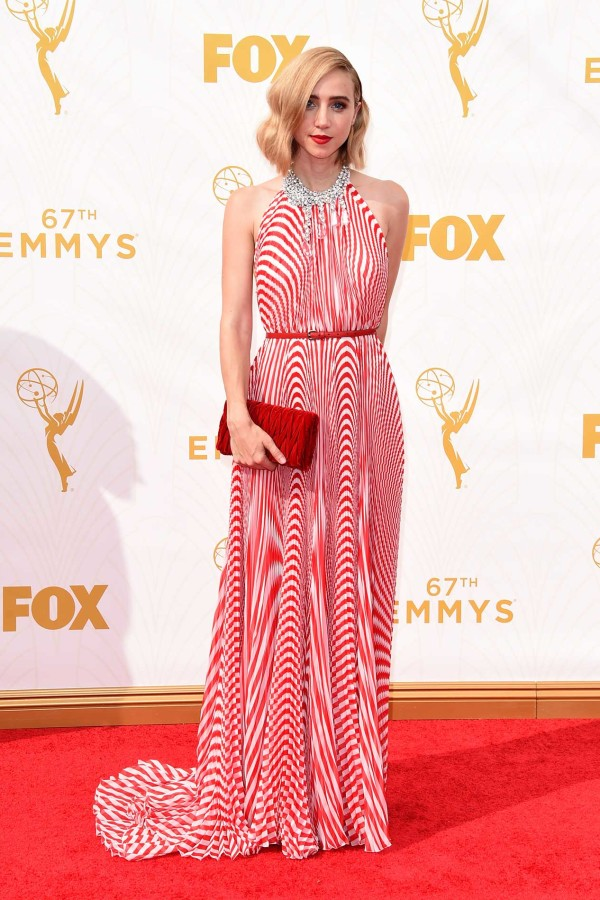 Wedding dress inspiration for the non traditional bride by Jamie Chang of Mango Muse Events. Miu Miu dress worn by Zoe Kazan at 2015 Emmys.