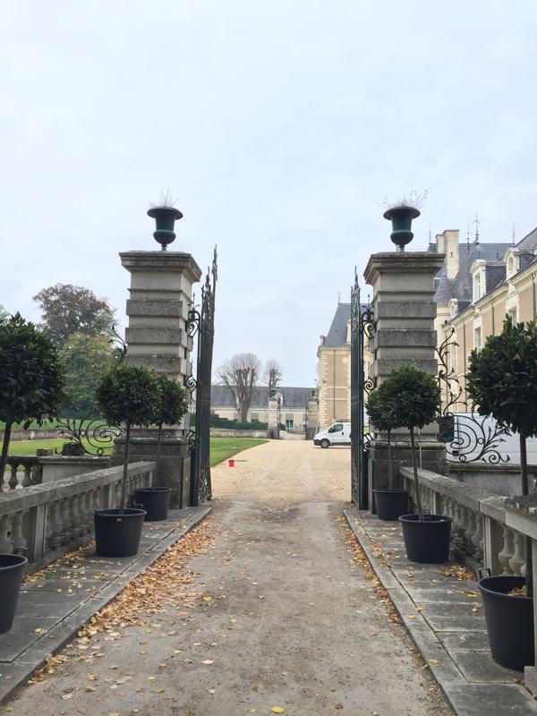 Entrance of the Chateau de Jalesnes a Destination Wedding venue in France
