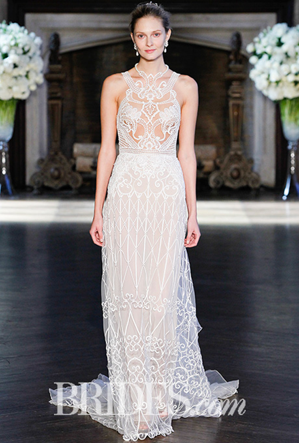 Alon Livne Cutout Bridal Gown Fall 2016
