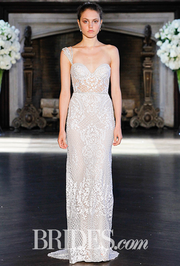 Alon Livne Off the shoulder Bridal Gown Fall 2016