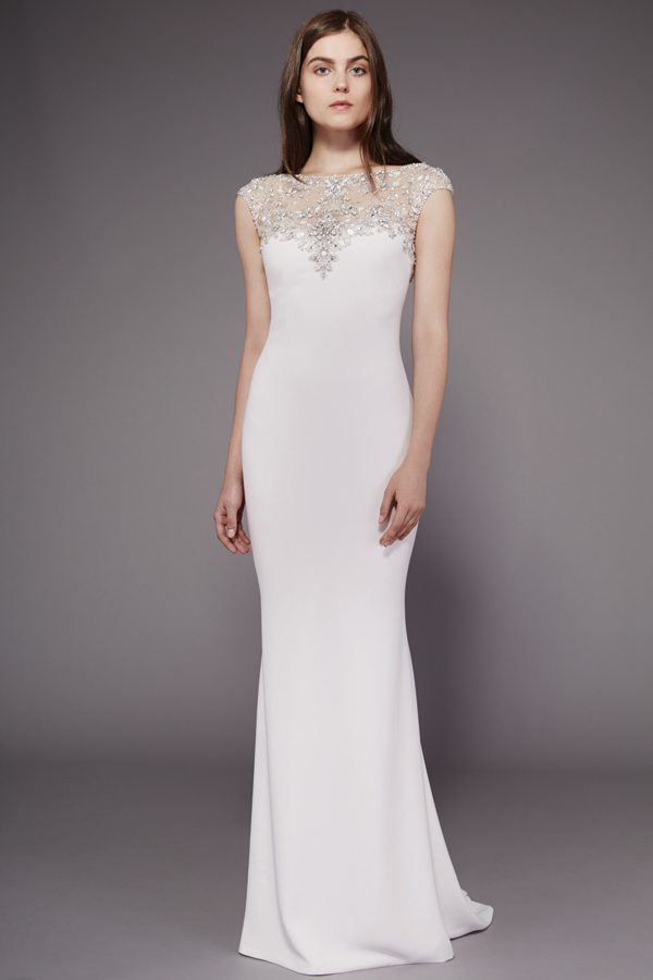 Badgley Mischka beaded Bridal Gown Fall 2016