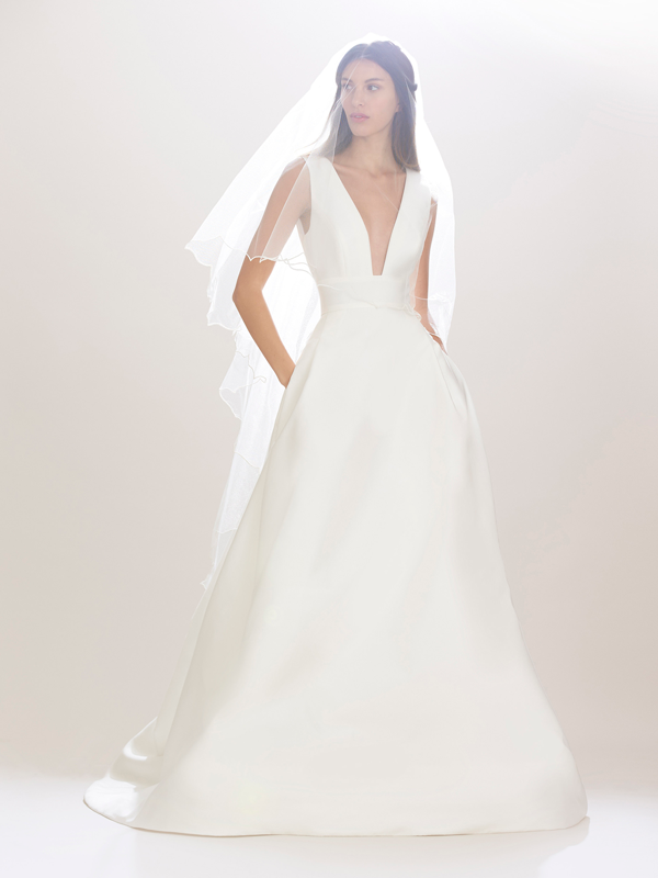 Carolina Herrera Bridal Gown Fall 2016