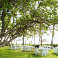 Destination wedding Hawaii venue Lanikuhonua Private Estate