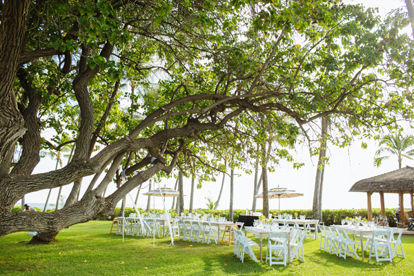 Destination wedding Hawaii venue Lanikuhonua Private Estate