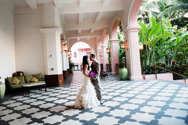 Royal Hawaiian Hotel Destination wedding venue in Hawaii