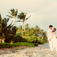Destination Wedding on the beach in the Caribbean by Jamie Chang of Mango Muse Events