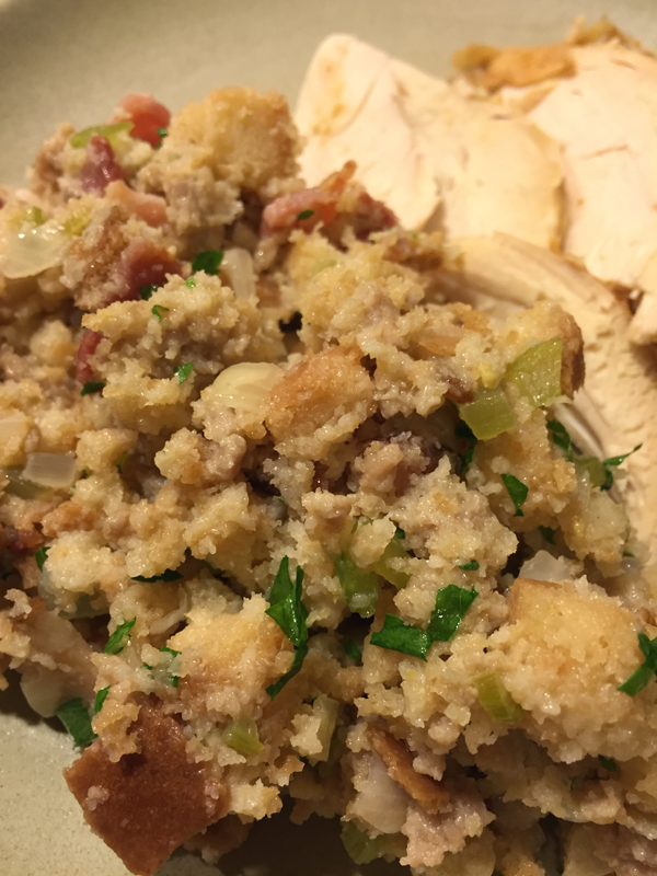 Thanksgiving Stuffing Recipe by Jamie Chang of Mango Muse Events