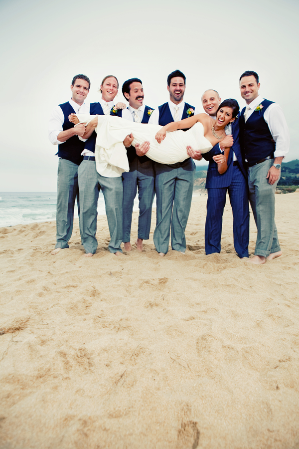 Destination wedding Half Moon Bay by Jamie Chang Mango Muse Events