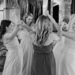 Joyful Bridesmaids at Wedding coordinated by Jamie Chang of Mango Muse Events