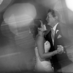 Wedding couple having their first dance at a Sonoma destination wedding by Destination wedding planner Mango Muse Events