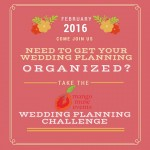 How to organize your wedding planning
