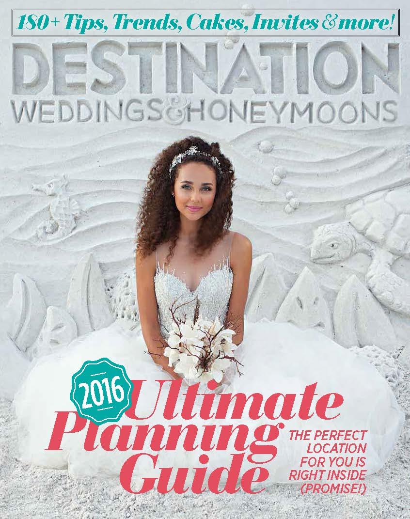 Destination weddings and honeymoons magazine featured Destination wedding planner Mango Muse Events