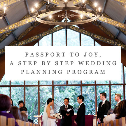 Passport to Joy step by step wedding planning program by Mango Muse Events destination wedding planner