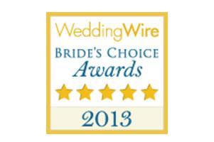 2013 Wedding Wire Bride's Choice Award Winner Destination wedding planner Mango Muse Events