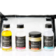 Mini kit of S.W. Basics all natural skincare products perfect for an all natural bridal beauty