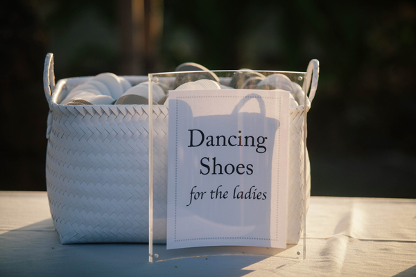 Dancing shoes - 6 fun ideas for summer weddings by Destination wedding planner Mango Muse Events