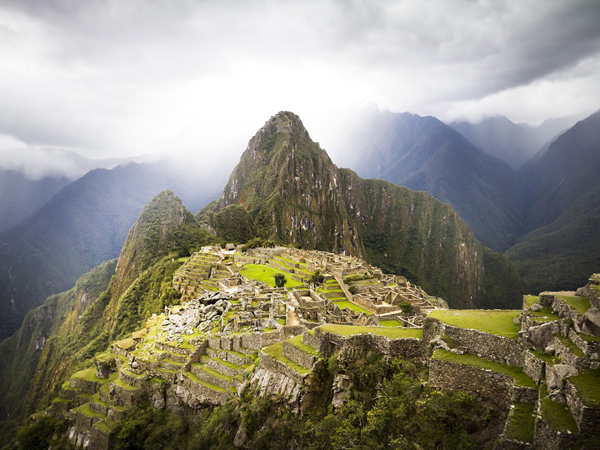 Machu Picchu in Peru, a international travel destination